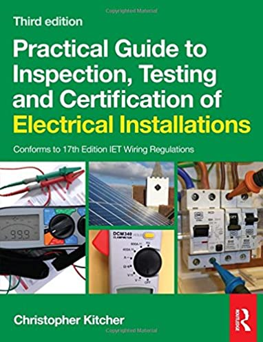 practical guide to inspection testing and certification of rh amazon co uk Electrical Switch Installation Electrical Installation Clip Art