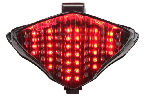 Integrated Sequential LED Tail Lights Smoke Lens for 2004-2006 Yamaha YZF R1 (Yamaha Yzf R1 Led)