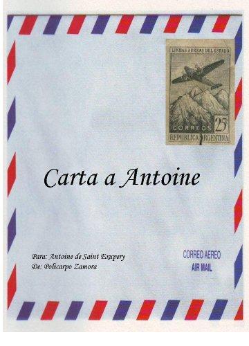 Amazon.com: Carta a Antoine con noticias del Principito ...