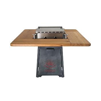 FUNCO exclusiva Diseño Gourmet de gas de jardín mesa inicial ...
