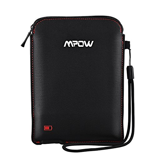 Mpow Portable Battery Case for Bluetooth Headphones, Rechargeable Universal Protective Carrying Case for Earbuds/Cable/Small Accessories, Travel Sport Pouch