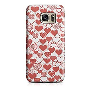 Samsung S7 Case Heart Love Pattern Pattern Great For Girls Cute Design Sleek Finish Clear Edge Samsung S7 Cover Wrap Around 78