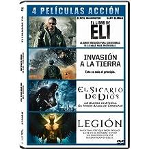 Pack: El Sicario De Dios + Legión + El Libro De Eli + Invasión A La Tierra [D