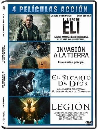 Pack Peliculas De Accion 2: Invasion A La Tierra / El Libro De Eli ...