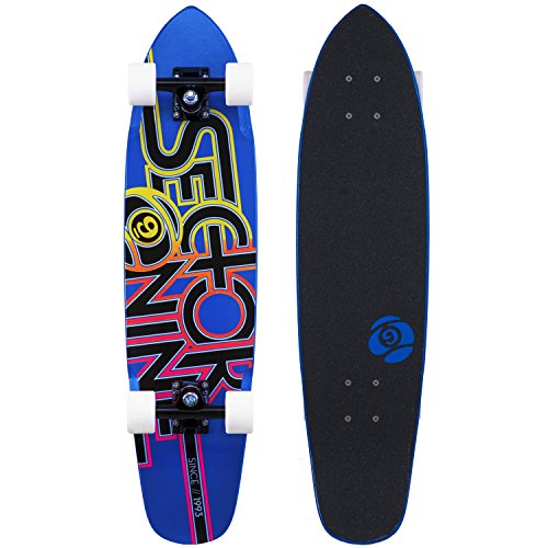 """Fireball Supply Co. X Arbor Longboard Cruiser Downhill Skateboards - Various Models - Deck & Completes (Wedge - Sector 9 (31.25""""), Complete)"""