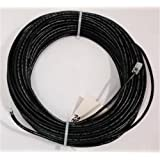 CERTICABLE 25' RJ11-RJ11 CAT-5E Outdoor DSL Modem Cable AT&T Uverse HIGH Speed Internet