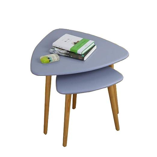 YNN Table Mesa de anidamiento Mesa de café Tablero de MDF Sala ...