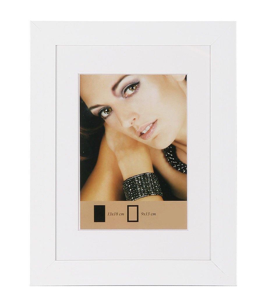 Amazon.de: Lady Style Bilderrahmen in Gold Schwarz Silber Weiß Stahl ...