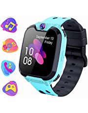 Smartwatch Voor Kinderen Met mp3-Speler - [Inclusief 1GB Micro SD] Tweeweg TouchScreen Calling Game Alarmcamera Klok Verjaardags speel goedcadeau