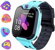 Smartwatch Telefono per Bambini, Orologio Digitale con Conversazione Bidirezionale Lettore MP3 Gioco Sveglia Calcolatrice...