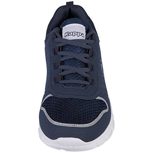 6710 Unisexe Sport Kappa Bleu Blanc Amora Chaussures De Adulte Marine CwxwrI0q5