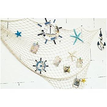 Gamt mediterranean style decorative fish net for Amazon fishing net