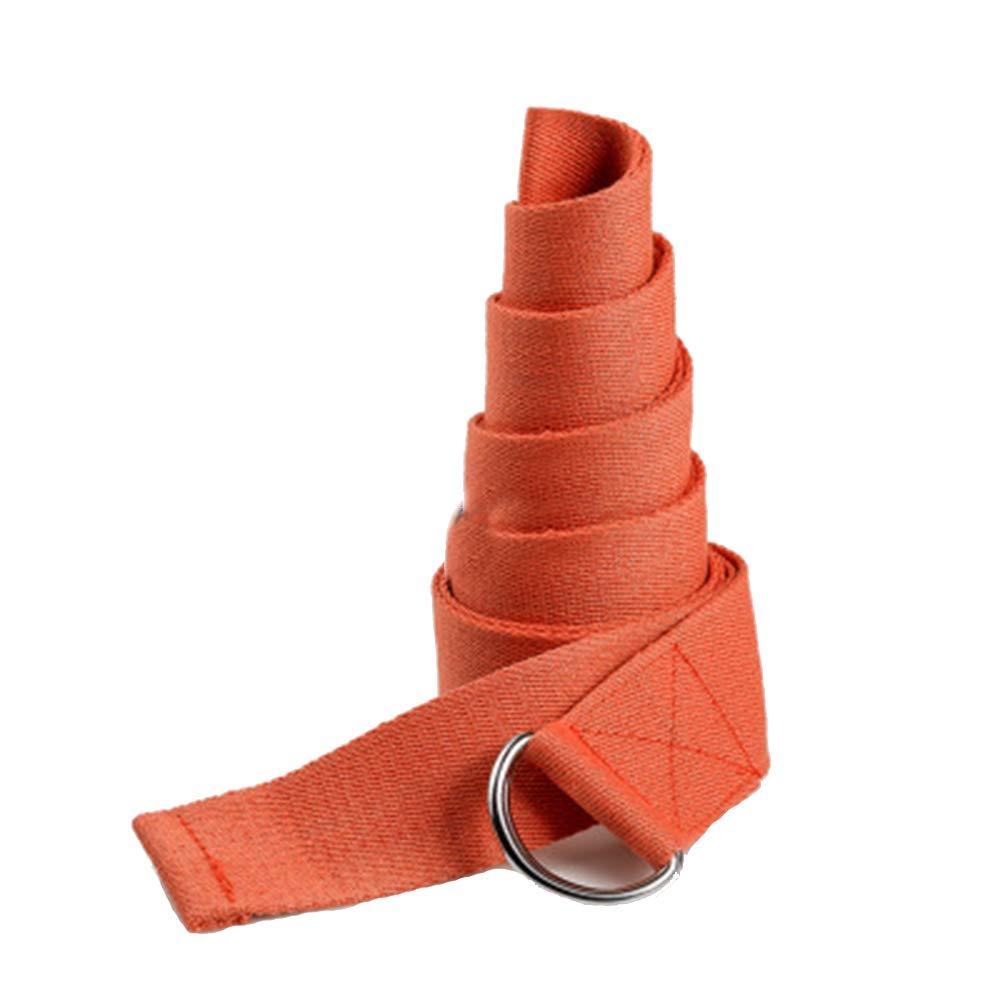 Hejiahuanle - Cinturón elástico para yoga, correa de ...