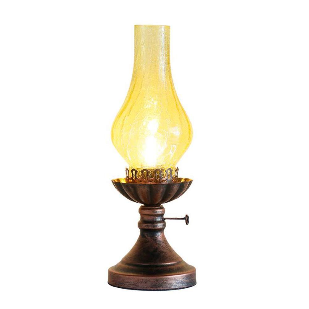 Vintage Table Lamp, KeRosane Table Lamp, Coffee Shop Bar Bar Table Lampe, Desk Bedroom Decorative Table Lamp, E27, 14  40cm