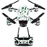 MightySkins Skin For DJI Spark Drone & Controller - Science Cartoon   Protective, Durable, and Unique Vinyl Decal wrap cover   Easy To Apply, Remove, and Change Styles   Made in the USA