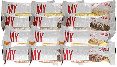 Pro Supps MYBAR Protein Bar Variety Pack 12-55g Bars