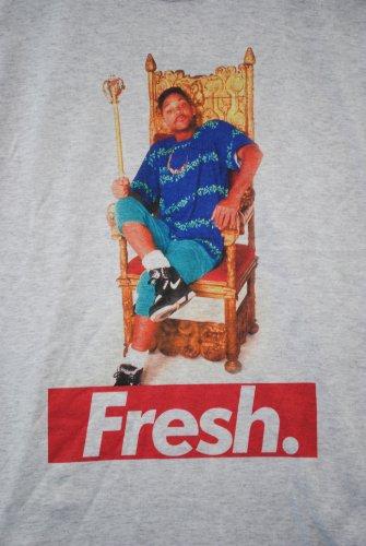 Smith Gris Prince Fraîche Années Fact Trône Will T Tacheté Actual shirt 90 SZqgOwxw0