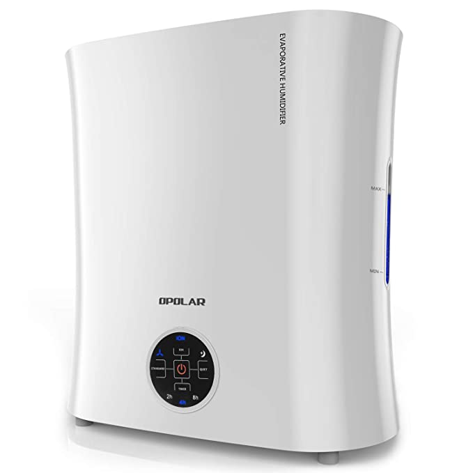 Review OPOLAR Evaporative Humidifier, Germ-Free