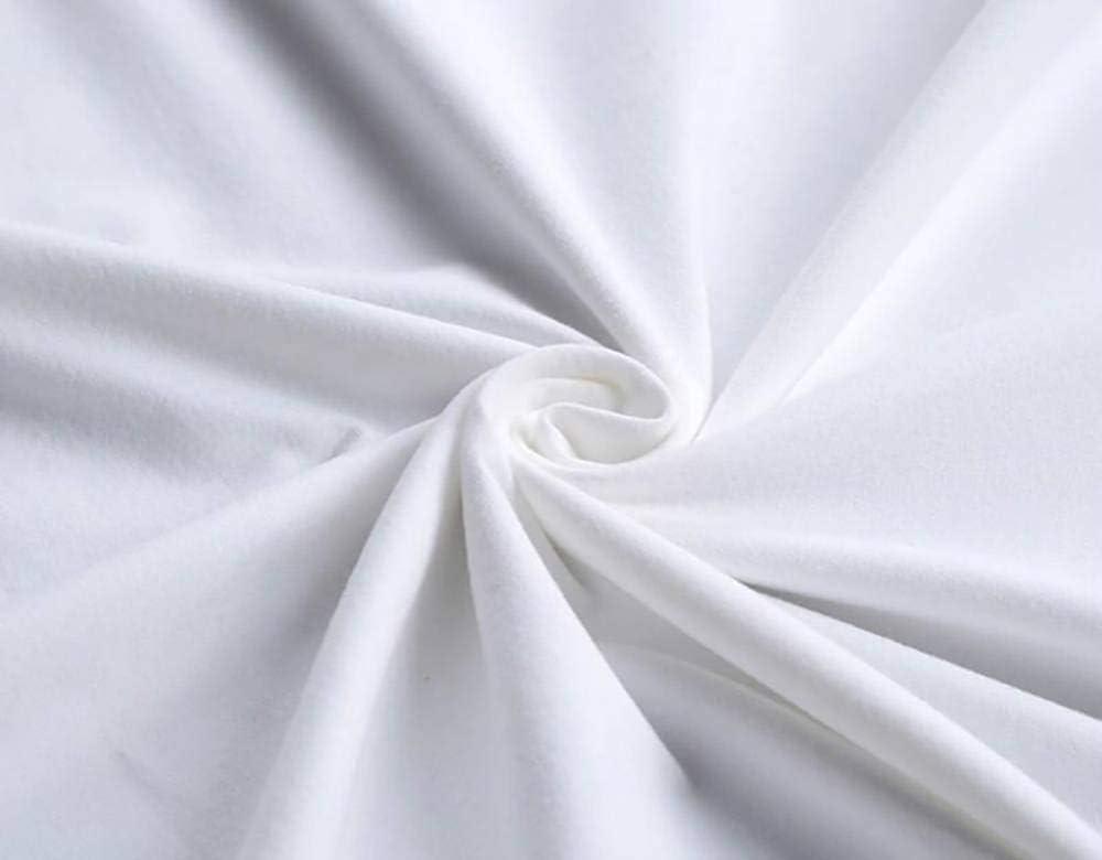 Camiseta de Manga Corta de Cuello Redondo para Hombre Camiseta Informal de Algod/ón Verano Camiseta de Manga Corta para Hombre Top Fashion Print s Blanco BOSSLV