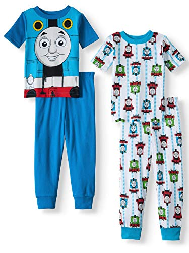 Thomas & Friends Baby Thomas The Train Boys 4-Piece Cotton Pajama ()