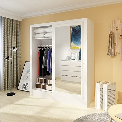 Furiture-uk-shop - Armario de puerta corredera para dormitorio ...