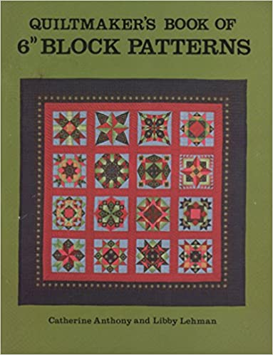 Book Quiltmaker's Book of 6