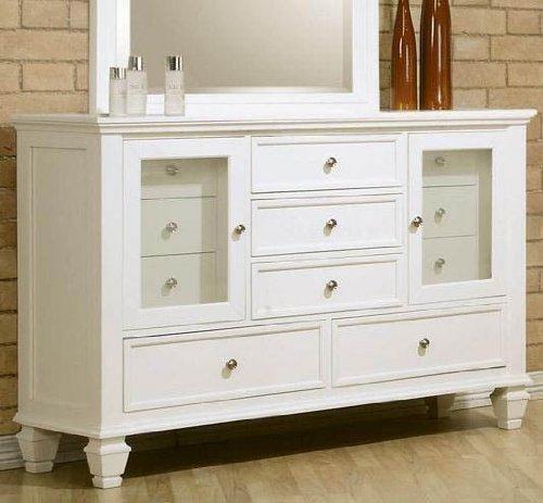 Coaster Storage Dresser with Glass Doors - White Storage Dresser Shopping Results