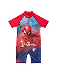 boys spiderman surf suit swimsuit swimming costume childrens swimwear age 1-10 Years