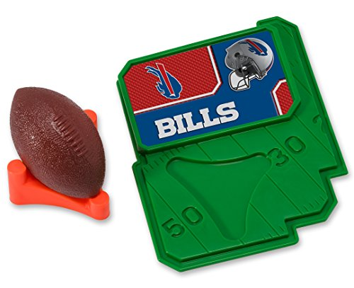 CAKEMAKE NFL Football & Tee, Cake Topper, Buffalo Bills