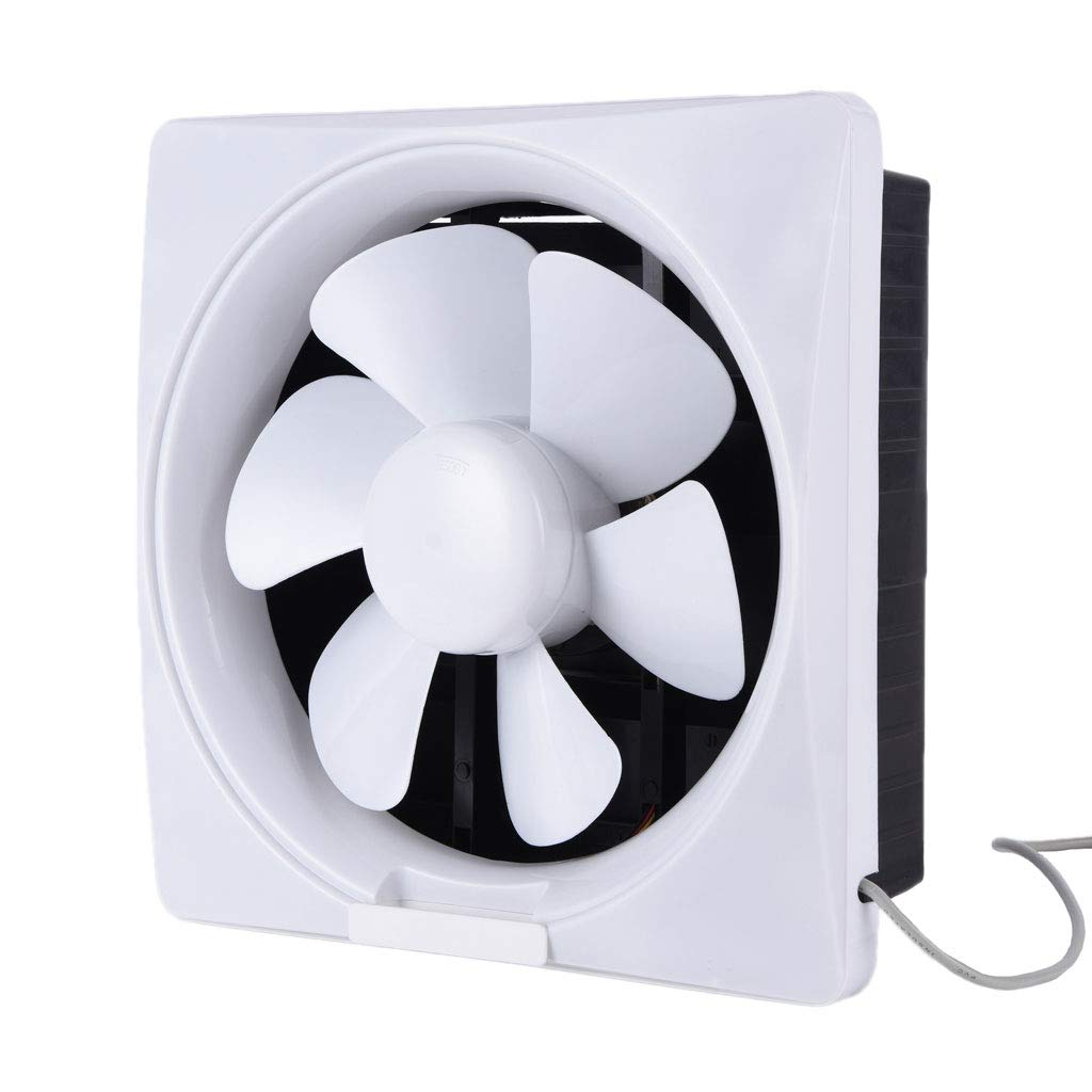 Moolo Ventilation Fan, Wall-Mounted Low Noise Bedroom Dining Room Exhaust Fan