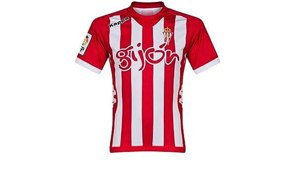 Deporte Gijón Hogar Camiseta De Fútbol 2012/13 - Adulto Chica: Amazon.es: Deportes y aire libre