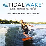 Tidal Wake XLR8 Wake Surf Shaper Wave Generator for inboard, Forward & V-Drive Boats   Floating Wakesurf Creator   Compact Storage