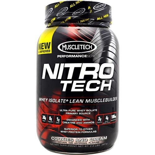 Nitro-Tech, Cookies And Cream - Tech Nitro Cookies