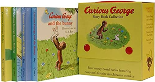 amazon curious george story book collection h a rey apes