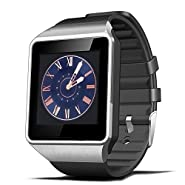 CNPGD [U.S. Extended Warranty] All-in-One Smartwatch + Watch Cell Phone iPhone(sync Calls only) Android Phone(sync All) Samsung Song HTC Huawei