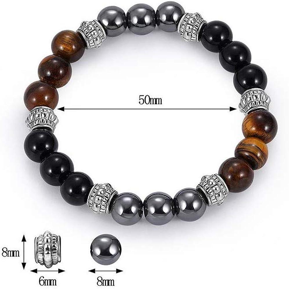 Accents Kingdom Bracelet H/ématite Magn/étique Tuchi Perle Simul/ée pour Femme