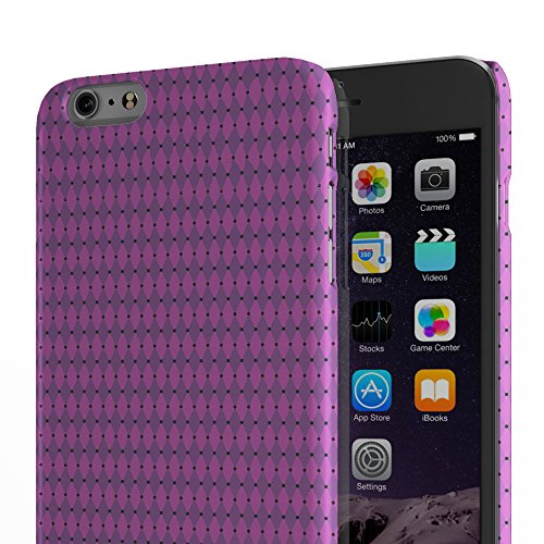 Koveru Back Cover Case for Apple iPhone 6 Plus - Pink Pattern
