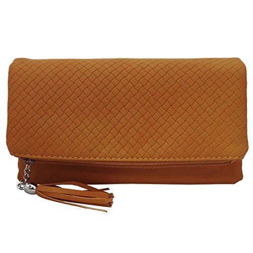 Quilted Leather Clutch Bag - 7