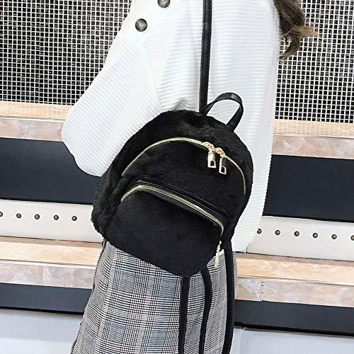 donna zaino Borsa tracolla buon mercato casual nero viaggio a unita studente scuola borse a donna borsa tinta q1qdwpx