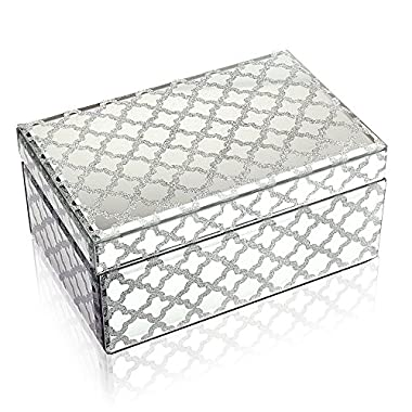 Geff House Reflective Nights Jewelry Keepsake Box