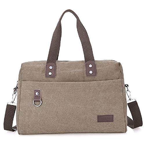 Messenger Messenger Business Bag Bolsa Caqui Caqui Multifuncional Hombro Canvas Bag Mens ZHRUI Bag nXwx0A6Zpq