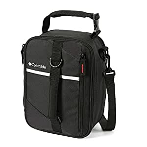 Columbia Grid Line Expandable Lunch Pack, Black
