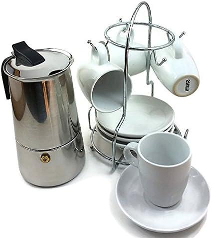 IMUSA hornillo, de acero inoxidable cafetera eléctrica (capacidad ...