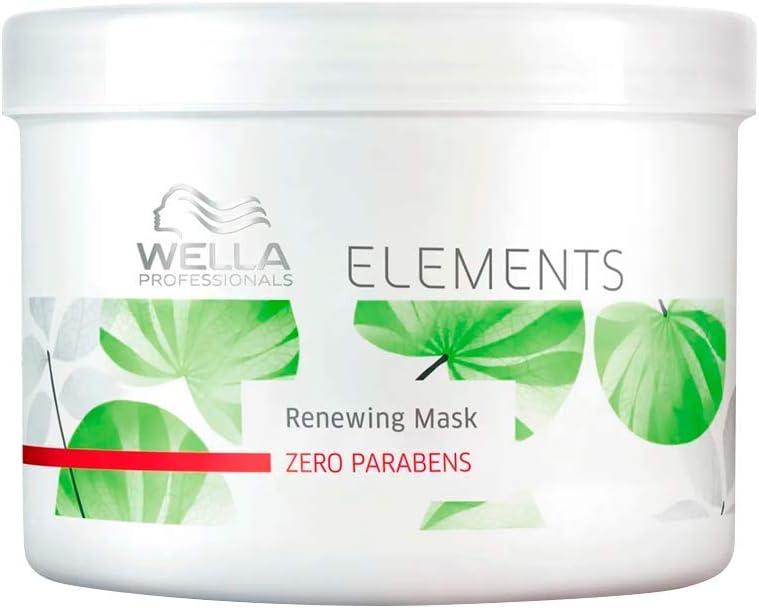 Wella Elements Renewing - Mascarilla de cabello, 500 ml