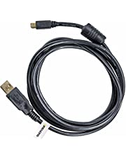 BRENDAZ USB Cable Mini-B 8 Pin for Nikon D3200 D5200 D5000 D5100 D5200 D5500 D7100 D7200 DF and D750 Cameras, Replacement for NIkon UC-E6 UC-E16 and UC-E17 Cable, 6-ft