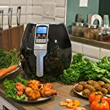 XtremepowerUS 1500w Electric Air Fryer Cooker, 8 Cooking Settings - 3.5-Liter Oil Free Fryer