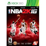 NBA 2K16 (Microsoft Xbox 360, 2015) Brand New Factory Sealed Disc, Free Shipping