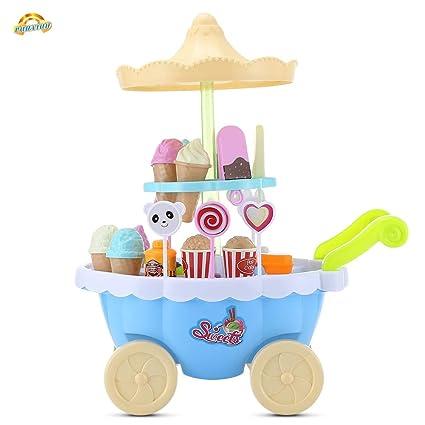 Juguetes magicos Ice Cream Juego de carrito de la compra ...