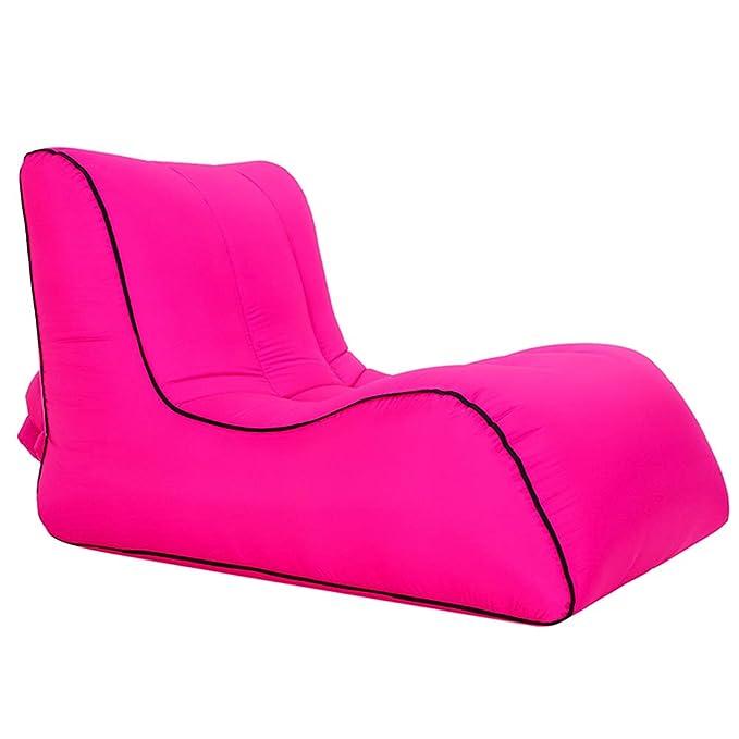 TZTED Sofa Hinchable, Tumbona Inflable Cama portátil Impermeable ...