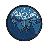 #5: Asilda Store Out to Live Glow in the Dark Outdoor Embroidered Sew or Iron-on Patch